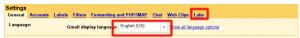 Włączenie Google Labs w Gmailu